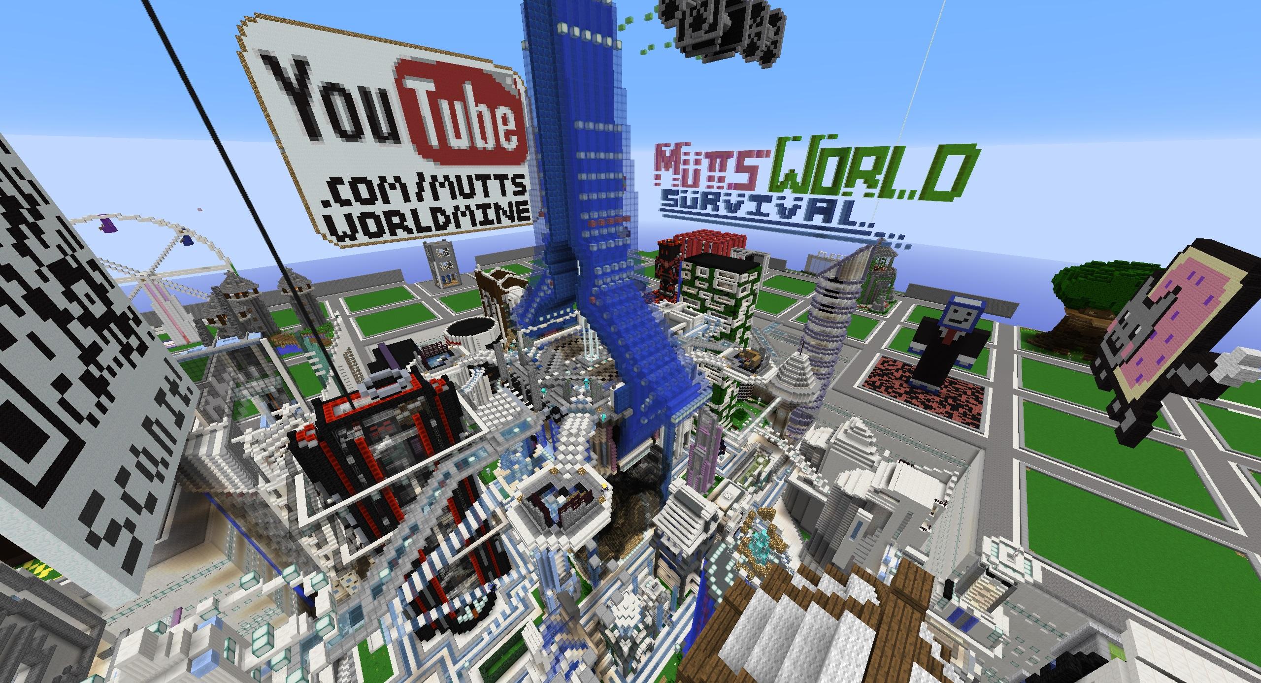 New Survival Spawn! - Minecraft - MuttsWorld - Minecraft