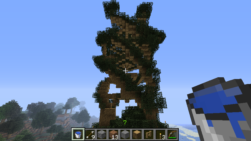 Treeforts Treehouses Minecraft By Agreatguy Beauty