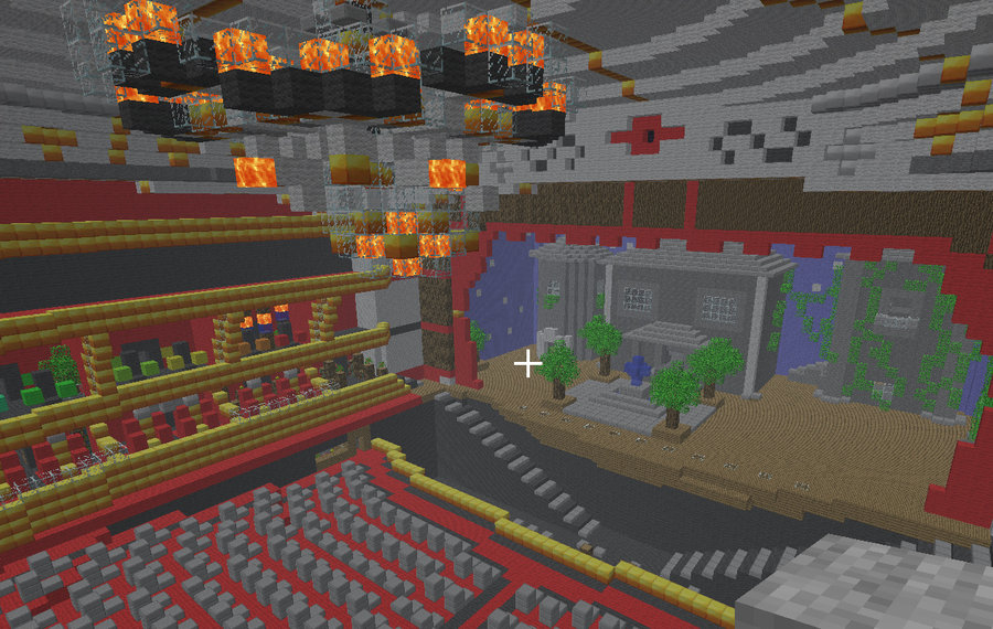 Movie Theater In Minecraft
